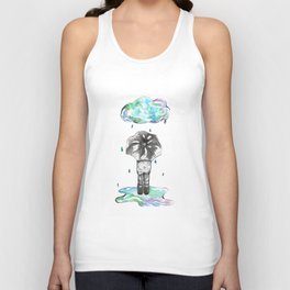 It's the Rain Unisex Tank Top