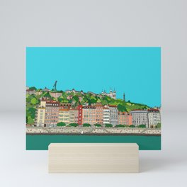 Lyon, France Mini Art Print
