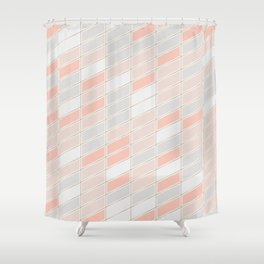 Pattern Rose 1 Shower Curtain