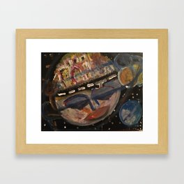collateral damage Framed Art Print
