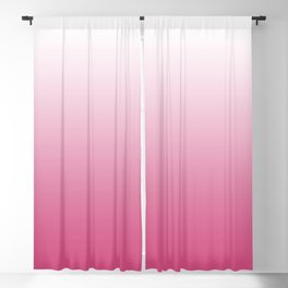 ombre pink dreams Blackout Curtain