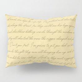 Manuscript Pillow Sham