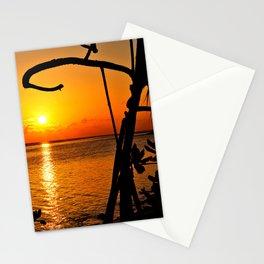 Sunrise The Maldives Stationery Cards