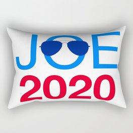 Joe Biden 2020 Aviator Sunglasses Rectangular Pillow