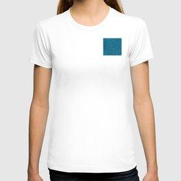 Aqua Blue Circles T-shirt