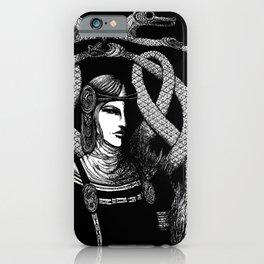 Nordic Goddess Hel in Black iPhone Case