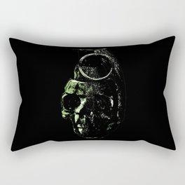 Death Blow Rectangular Pillow