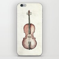 cello iPhone & iPod Skins featuring Cello by Mike Koubou