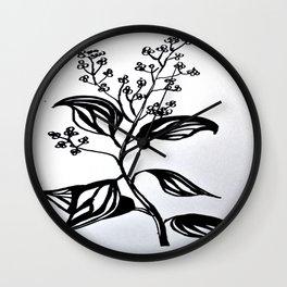 Rosewood Wall Clock