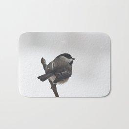 The Bravest Little Chickadee Bath Mat