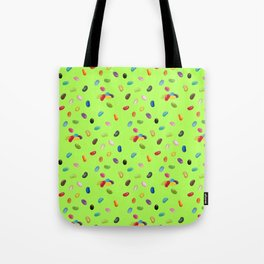 Android Eats: jellybean pattern Tote Bag
