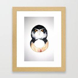 Numbirds Framed Art Print