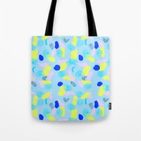miami Tote Bags featuring Miami  by Y A Y