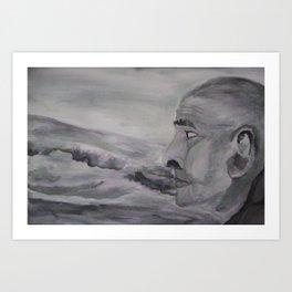 Contemplations Art Print