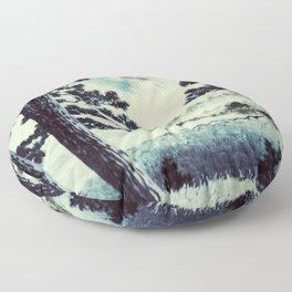 A Long Trip to Kana Floor Pillow