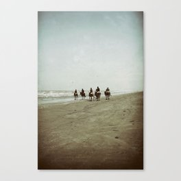 Riding with the Tide Canvas Print