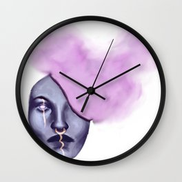 Smoke Head Wall Clock