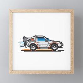 Futuristic Car Framed Mini Art Print