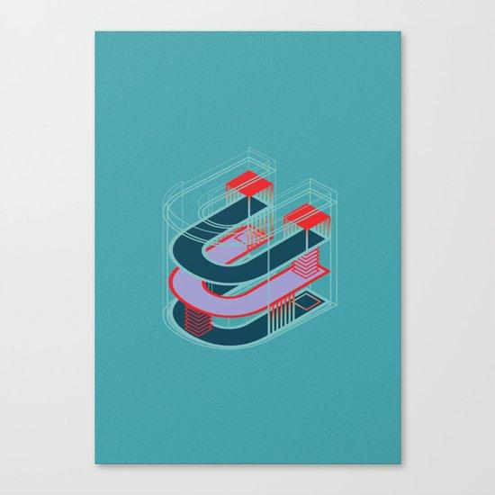 U. Canvas Print