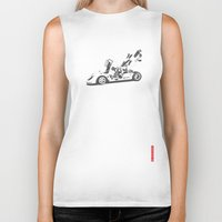 ferrari Biker Tanks featuring Ferrari 512 by Remove Before . . .