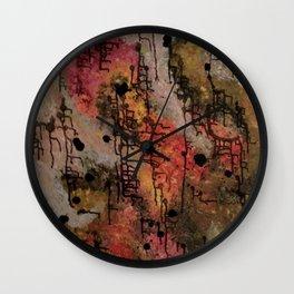 Saturation Wall Clock