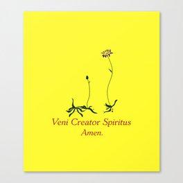 Veni Creator Spiritus  Canvas Print