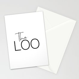 The Loo Stationery Cards