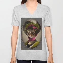 Young Lady of Savannah Unisex V-Neck