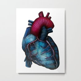 Heart 1 Metal Print