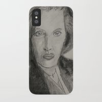 scully iPhone & iPod Cases featuring Scully by William Buck