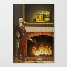 No.2 Christmas Series 1 - The Early-Mid Years Canvas Print