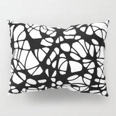 black curves Pillow Sham