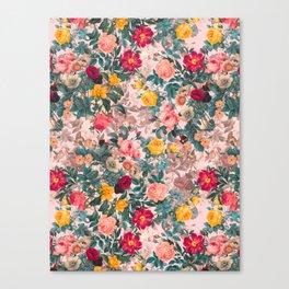 Summer Botanical Garden XI Canvas Print