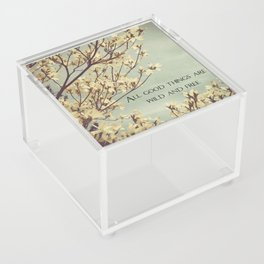 Wild & Free, Great Quotes, Wise Words, Wild, Free, Wild and Free Acrylic Box