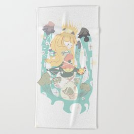 A Sanctuary Beach Towel