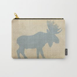 Rustic Nursery Moose Carry-All Pouch