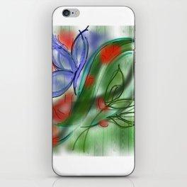 Fantasy of flowers iPhone Skin