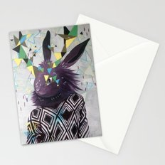 Dark Rabbit Stationery Cards