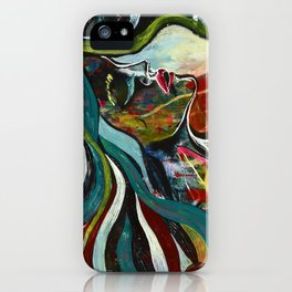 Letting Go iPhone Case