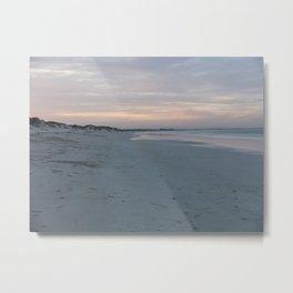 Endless Beach at Sunset  Metal Print