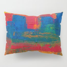 Reggae Rainbow Paint (Color) Pillow Sham