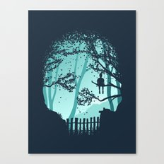 Don't Look Back In Anger Canvas Print