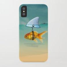 gold fish iPhone X Slim Case