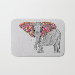 Bella The Happy Butterphant Bath Mat