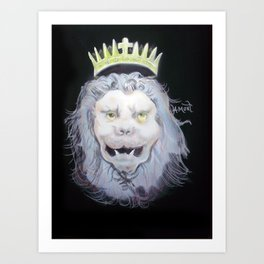 The Lion of Judah Art Print