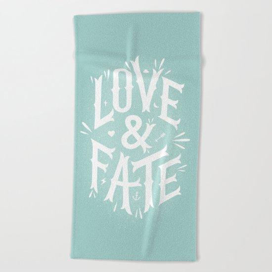 Love & Fate Beach Towel