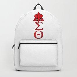 Elephant Delta Triangle Sigma Red Theta Backpack