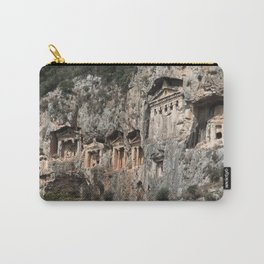 Dalyan Rock Tombs Carry-All Pouch