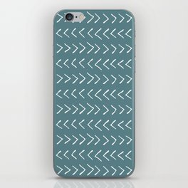 Arrows on Horizon Blue iPhone Skin