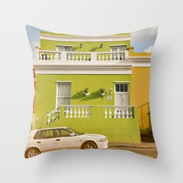 Bo-Kaap Cape Town Throw Pillow